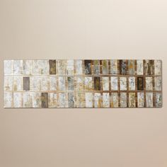 Trent Austin Design Grey Block Painting Print on Wrapped Canvas