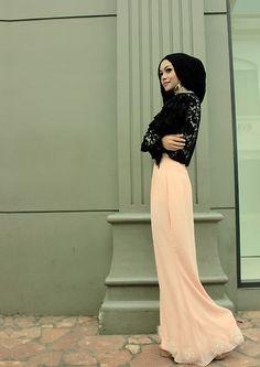 """""""Black Madness"""" by Cassandra Dini Prasasti Hijabi fashion. Hijab."""