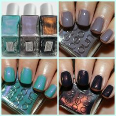 Rescue Beauty Lounge: Insouciant, Aqua Lily, Piu Mosso.  www.vampyvarnish.com