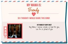 Pick a mood for Mother's Day and we'll provide the right song for her! http://zip2.it/ume4mom-12