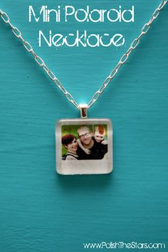 Mini Polaroid Necklace Tutorial