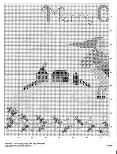 Point de croix Noël -m@- Christmas cross stitch 2