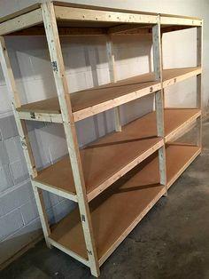 Lovely Cheap Garage Storage Shelves