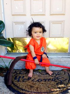 Dragonball goku costume