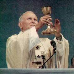 Hoy  es el dìa de San Juan Pablo II .. +..   22 de octubre