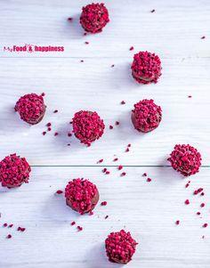 Easy Valentine's day recipe - No Bake Raspberry Chocolate Truffles