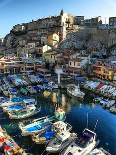 Marseille.   Repinned by www.mygrowingtraditions.com I've dined here many times...