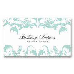 22 Best Event Planner Business Cards Images Business Card Design