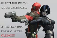 Deadpool and Domino