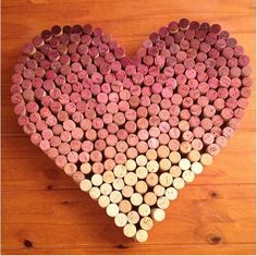 You will need: Wine corks A wooden backdrop (see suggestion below) Hot glue gun, or some other form of glue When I d...