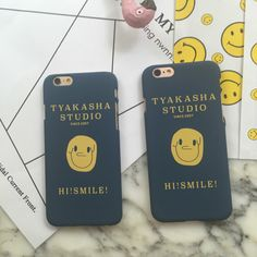 for Apple iPhone 6s case frosted shell funny smile original mobile phone shell iPhone 6plus case 6 6S 6splus case falling