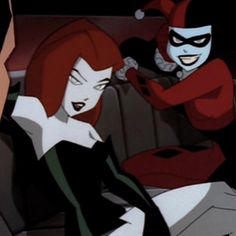 Evil Cartoon Characters, Cartoon Icons, Girl Cartoon, Cute Cartoon, Cartoon Art, Poison Ivy Cartoon, Hq Marvel, Cartoon Profile Pictures, Dc Memes