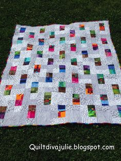 Me and My Quilts - Exploring the Possibilities: Stacked Squares - The Quilt