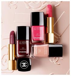 Chanel makes the prettiest makeup