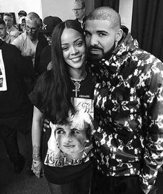 Rihanna and Drake pinterest//@ashimina/