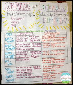 Teaching Children to Compare