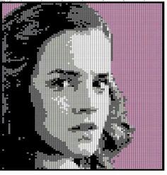Hermione Granger - Kreuzstich