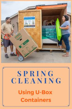 Doing some spring cleaning? Our U-Box containers can help! Click through for our tips on decluttering your home using U-Box containers. Container Organization, Storage Containers, Storage Organization, Declutter Your Home, Organizing Your Home, Moving Containers, Shoe Storage, Decluttering, House Rooms