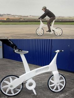 Fully-Functional Bicycle Made with a 3D Printer.