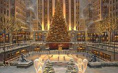 Albero di Natale del Rockefeller Center New York 2015