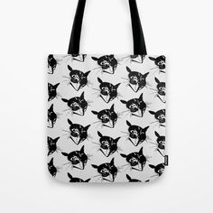 Savage Kitten Tote Bag