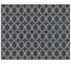 Scroll Tile Custom Rug - Charcoal (10-18 Week Delivery)