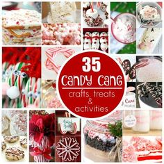 35 creative ways to use leftover candy canes for crafts, treats and science experiments - Happy Hooligans