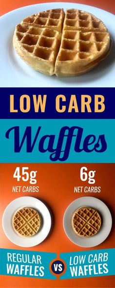 These low carb waffles that I've been making are just the best. (I know that every food blogger says that, but you've got to take my word for it on this one.) This recipe is Low Carb, Keto, Paleo, Atkins, LCHF, Sugar Free and Gluten Free.