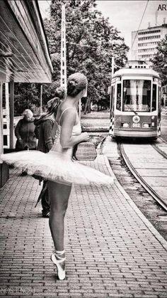 Waiting on the tram... Jess C. Scott / A Lifetime Photography