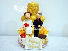 Sugar Kit per Torta 50° Anniversario di Matrimonio | | Fate di Zucchero - Cake Designers