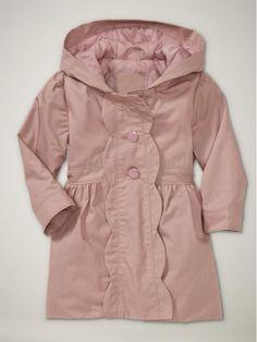 babyGAP Scalloped rain coat