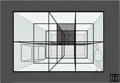 """""""The black box in the white cube""""    temporary exhibition and performance by artist Tobias Ollert    featured on our blog"""