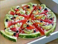 Meloen taart
