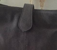 Taupe grey nubuck leather crossbody bag, Soft nubuck leather with warm taupe grey color, Women purse, Shoulder handbag, Adjustable strip