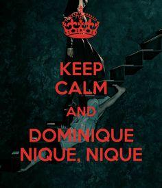 Keep calm and Domenique, nique, nique... #americanhorrorstory