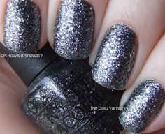 """Just got this and it's so fun! (OPI """"How's it Snowin'?"""")"""