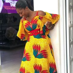 She rocks is so well Dashiki Dress, Clothing Styles, African Fashion, Rocks, Shoulder Dress, Fashion Outfits, Clothes, Instagram, Dresses