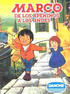 Álbum de cromos de Marco, de los Apeninos a los Andes