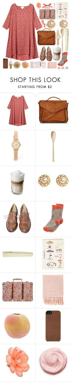 """""""French Toast made w. love"""" by ftrees ❤ liked on Polyvore featuring Monki, Topshop, Kate Spade, HAY, Chanel, Studio TMLS, MANGO, Geo F. Trumper, Liberty and Surya"""