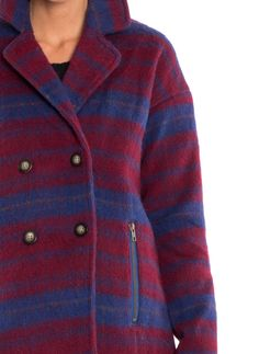 NUMPH LUCY JACKET RED BLUE € 129,95