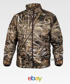 b7065a3324501 Drake Waterfowl Systems Mst Synthetic Down Realtree Max-5 Full Zip Jacket  Dw1051 Hunting Clothes