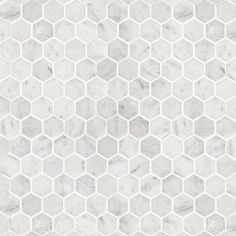 Bianco Carrara Hexagon Polished Mosaic