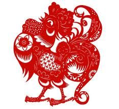 February 2015 marked the beginning of the Lunar New Year, so let us take a look at Chinese zodiac predictions for the year Chinese Zodiac Rooster, Chinese Zodiac Signs, Rooster Year, Chicken Illustration, Chinese Paper Cutting, New Year Gif, Chinese Artwork, Chinese Cartoon, Chicken Art