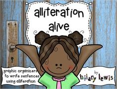 Alliteration Alive 2! - Spin-a-Sentence Activity-Teach Kid $5