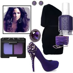 Purple Passion, created by cassiecclayton on Polyvore