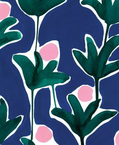 Protea. Part of the Gondwanaland collection. This print was inspired by the Proteaceae family which is a species of plant that dates back to prehistoric times, existing on the supercontinent of Gondwana.
