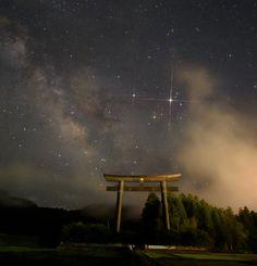 https://flic.kr/p/H2Pc8W | 星空 | #stra #夜景 #星空 #星景 #宇宙 #space #彗星 #comet #milkyway #天の川 #流星 #流れ星 #地球 #earth #月 #moon #moonlight #月光 #星峠の棚田 #星峠 #棚田 #instagram #東京カメラ部 #鳥居 #海 #フィッシュアイ #魚眼