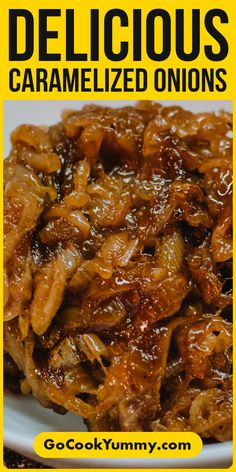 Looking for the perfect caramelized onions? Try this recipe to give a special taste to your regular food. French recipe that is ideally to use in pizza, patte, burgers and sandwiches. Onion Recipes, Tart Recipes, Greek Recipes, Quick Recipes, Side Dish Recipes, Brunch Recipes, Cooking Recipes, Spanish Recipes, German Recipes