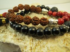 Rudraksha Tassel Bracelet Yoga Buddha Bracelet от BohemianChicbead