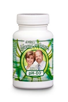 pH D3 - An Alkalizing Vitamin D3 Capsules (90 Capsules) - By pH Miracle®, Dr. Robert O You http://www.amazon.com/dp/B00CUAKZGW/ref=cm_sw_r_tw_dp_0AFGsb1BECH1M